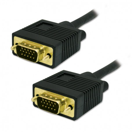 50FT 15 pin Male Male VGA Cable with Ferrites