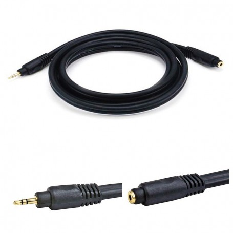 6FT Premium 3.5mm Stereo Male Female Extension Cable