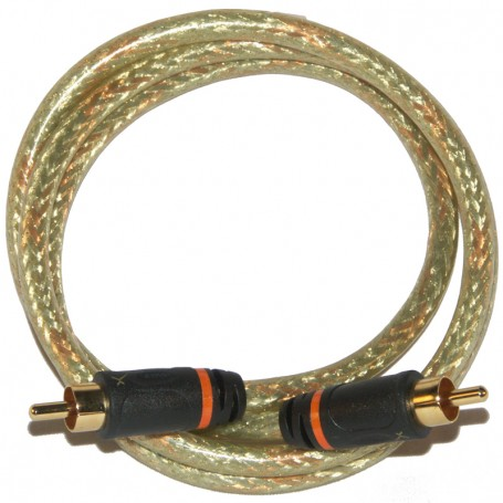 12FT RCA to RCA GoldX Audio Cable SPDIF Digital Coaxial