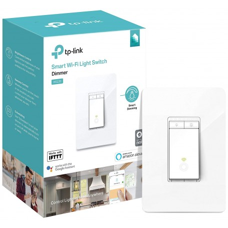 Kasa Smart Light Switch Dimmer TP-Link WiFi Light Switch Neutral Wire Alexa & Google