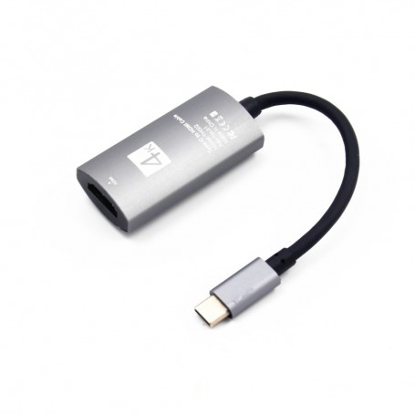 USB C to HDMI, USB C 3.1 Type C (Thunderbolt 3 Compatible) to HDMI
