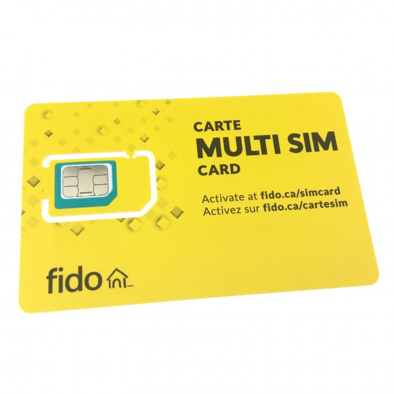 Sim Micro Sim Nano Sim Fido