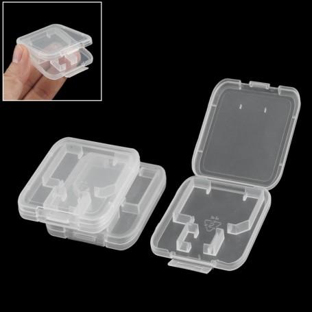 Plastic Case for MicroSD & SD